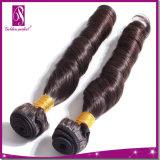Cheveux humains normaux de la meilleure qualité de vente chaude