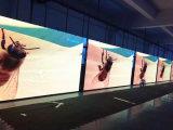 Publicidad video de la cartelera a todo color de interior P4