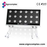 lámpara cuadrada patentada 3in1 del reemplazo del proyector de 50W RGB IP65 LED con el CE RoHS