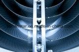 アプリケーション、広いチャネルの廃水の熱回復熱交換器を処理するペーパーおよび化学薬品のガス抜き処理