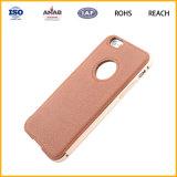 Caja de cuero del teléfono de la carpeta para el iPhone 6 más