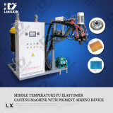 Mittlere Temperature PU Elastomer Casting Machine mit Pigment Adding Device