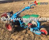 Únicos plantador da precisão do milho da grão da fileira/máquina de semear do milho que trabalha com trator de passeio
