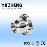 Clapet anti-retour sanitaire Dn100 d'acier inoxydable de Yuzheng