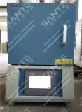 fornalha 1400c elétrica/forno de mufla do laboratório para o tratamento térmico