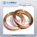 Gaxeta da junção do anel do metal de Bx