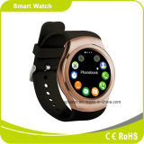 Bluetooth Pedometer Smartwatch du moniteur du rythme cardiaque 3D de support téléphonique de SYSTÈME D'EXPLOITATION de 4.0 Mtk2502 Androind et d'I