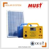 Mini système solaire 30W avec alimentation radio