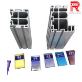 Profil en aluminium/en aluminium d'extrusion de tube anodisé par couleur