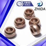 Bucha de bronze aglomerada do rolamento de esferas para a máquina de estaca do metal