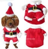 O cão veste a roupa do animal de estimação do revestimento dos trajes dos produtos do gato