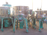 Máquina plástica del mezclador del polvo de la materia prima de la industria vertical del ABS del PE del PVC