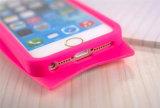 De mooie Mengeling kleurt het Geval van de Telefoon van het Silicone van de Surfplank van de Horizontale Lijn voor iPhone 7 7plus (xsp-009)