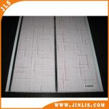 panneau de plafond de panneau de PVC de cannelure de l'eau de largeur de 20cm pour Deocration intérieur