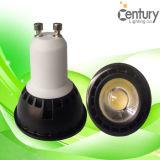 projector interno do diodo emissor de luz da iluminação GU10/JDR E27/E26/E14 do diodo emissor de luz da lâmpada da ampola do ponto do diodo emissor de luz 24degree