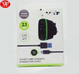 De Dubbele Lader USB van Belkin met Britse van de Verpakking Speld