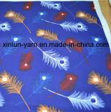 カーテンまたは寝具のための羽の漫画の印刷ファブリック