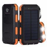 côté lumineux de pouvoir de panneau solaire de l'éclairage LED 10000mAh