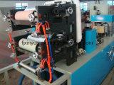 Serviette de qualité de prix bas faisant la machine avec l'impression de couleur