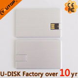 4/8/16/32/64/128GB 회전대 알루미늄 신용 카드 USB 섬광 드라이브 (YT-3114-03L)
