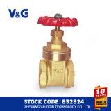 Innengewinde und kupferner MessingISO228 absperrschieber (VG11.90011)