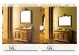 高品質のアメリカの純木の浴室用キャビネット