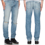 2016 оптовых джинсыов способа Spandex хлопка людей