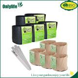 Il tessuto personalizzato conveniente del giardino di Onlylife coltiva il sacchetto