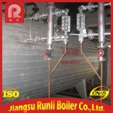 caldeira de vapor Gas-Fired da água 11t quente para industrial