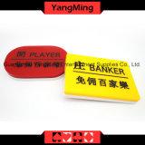 Casino acrílico Marker-2 do Baccarat (YM-dB03)