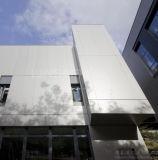 Painel do favo de mel/parede cortina de alumínio de canto & curvados da construção