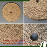 Rodas de lustro tratadas petróleo do sisal para metais duros