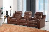 Домашняя модель 442 софы кожи Recliner мебели