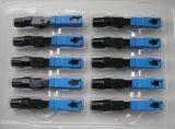Assemblée d'inducteur optique de la fibre LC UPC/connecteur rapide installable