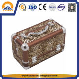 Модный леопард нося косметический случай (HB-2031)
