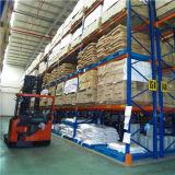 Cremalheira de aço resistente do armazém de armazenamento da pálete