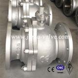 Tipo de acero al carbono Válvula de bola de PN16-PN64 brida