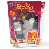 A gipsita Crafts fadas Handmade dos produtos de DIY, brinquedos das crianças, decoração Home