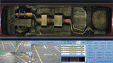 Color bajo sistema de vigilancia del vehículo (UVSS) para el punto de comprobación, entrada que embala