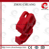 Bloccaggio di nylon di facile impiego dell'interruttore usato con il lucchetto
