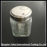 1350ml Stripe Glass Storage Bottle