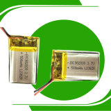 高い排出のレート902030 3.7V李ポリマー500mAh電池