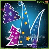 Personalizar la impresión de encargo de la etiqueta engomada de la ventana de la Navidad