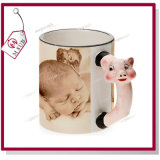 Capretti Mug 11oz Sublimation Ceramic Animal Mug con Photo