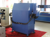 Máquina de gravação hidráulica da correia de couro de Hg-E120t/a