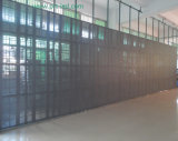 Color pieno Indoor LED Mesh Curtain con High Transmitting (P10, P12.5, P20)
