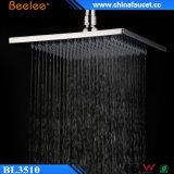 Testa di acquazzone d'ottone graduata 10-Inch contemporanea di pioggia del LED