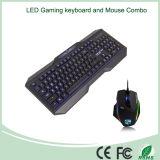 Топ Продажа Элегантный дизайн проводной клавиатуры и мыши Combo Set
