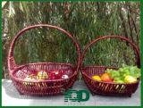 Los Handbaskets de la cesta de mimbre con muchos clasifican