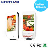 19 дюймов Android LCD Advertizing Display с афишей Hand Sanitizer